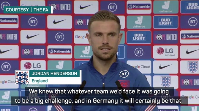 Preview image for England must have 'no regrets' against Germany - Henderson