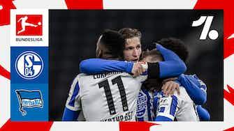 Imagem de visualização para Hertha vira sobre o Schalke e fica mais distante do rebaixamento