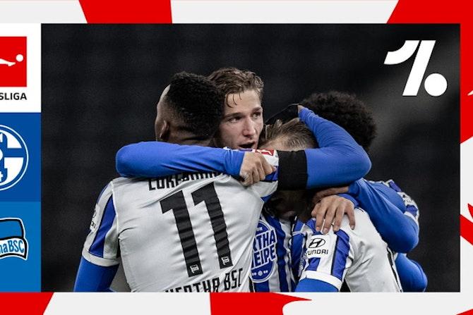 Hertha vira sobre o Schalke e fica mais distante do rebaixamento