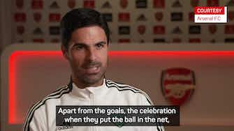 Preview image for Arteta hails a 'more complete' Aubameyang for Arsenal