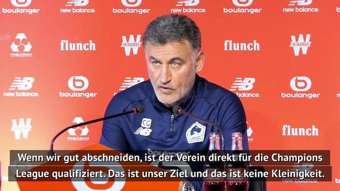 """Galtier: """"Vier Teams können noch Meister werden"""""""
