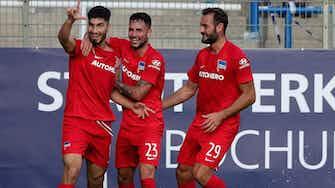 Vorschaubild für Erster Doppelpack: Serdar beschert Hertha drei Punkte