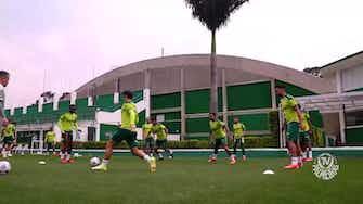 Imagem de visualização para Palmeiras segue em preparação para duelo contra a Chapecoense