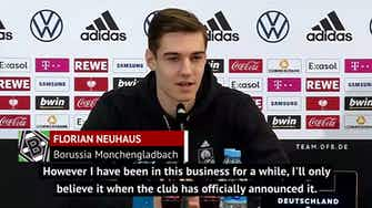 Preview image for Neuhaus refuses to speculate on Xabi Alonso's Gladbach future