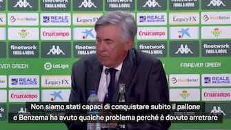 """Anteprima immagine per Ancelotti: """"Benzema ha fatto la differenza"""""""