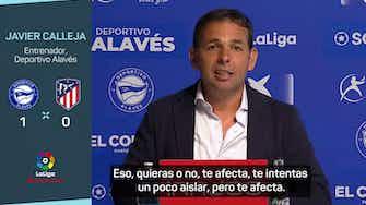 """Imagen de vista previa para Javier Calleja: """"Si hemos ganado al Atlético de Madrid somos capaces de ganar a cualquiera"""""""