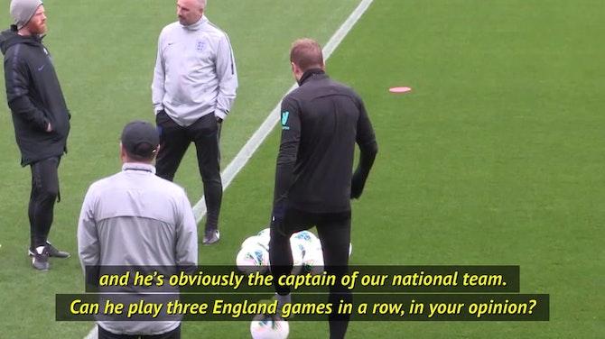 Mourinho won't 'beg' England to rest Kane