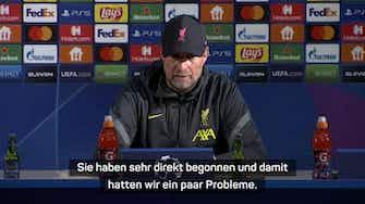 """Vorschaubild für Klopp trotz 5:1-Sieg: """"Hatten Probleme am Anfang"""""""