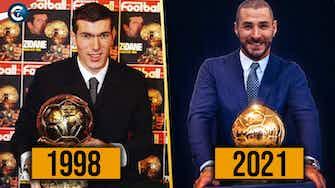 Image d'aperçu pour  Benzema 1er Ballon d'Or français depuis Zidane ? Pourquoi il va gagner