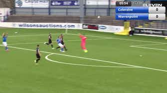 Preview image for Highlights: Coleraine FC 2-0 Warrenpoint Town FC