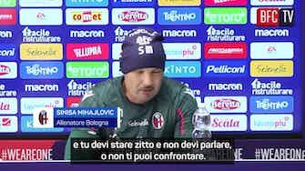 """Anteprima immagine per Mihajlovic è con Gasperini: """"Arbitri ci mettano la faccia"""""""