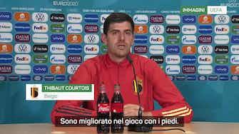 """Anteprima immagine per Belgio, Courtois: """"La strada è lunga ma possiamo vincere"""""""