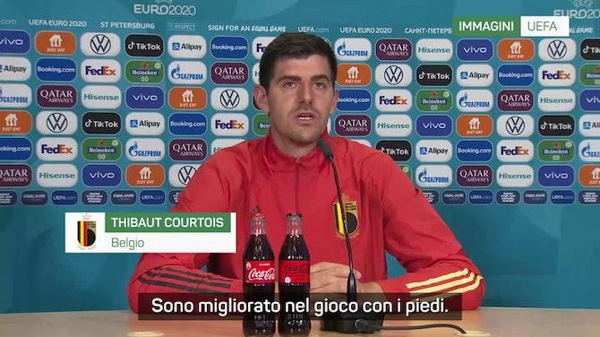 """Belgio, Courtois: """"La strada è lunga ma possiamo vincere"""""""