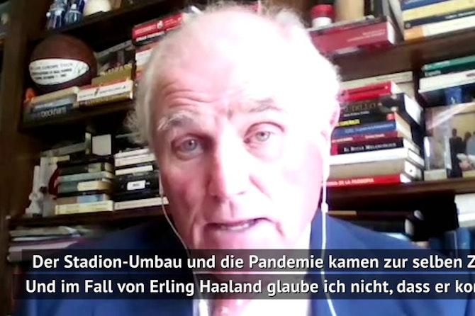 """Haaland zu Real? Ex-Präsident: """"Glaube ich nicht"""""""