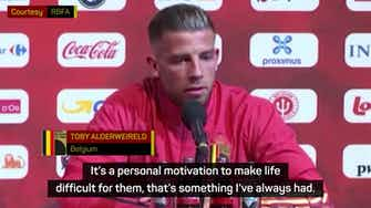 Preview image for Alderweireld and Foket relishing Mbappe battle