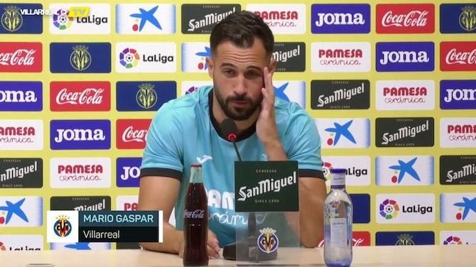 """Imagen de vista previa para Mario Gaspar: """"Todos queremos volver a ver el fútbol en directo"""""""