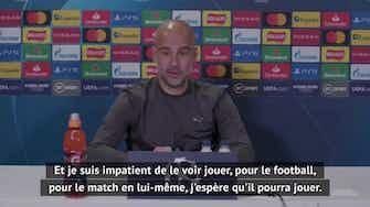 """Image d'aperçu pour Demies - Guardiola : """"J'espère que Mbappé va jouer"""""""