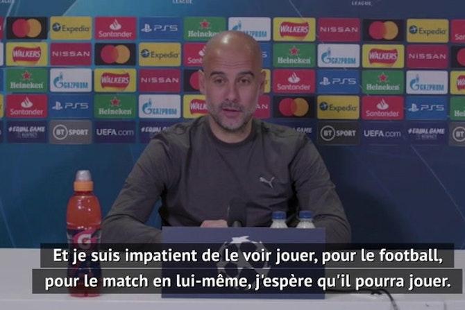 """Demies - Guardiola : """"J'espère que Mbappé va jouer"""""""