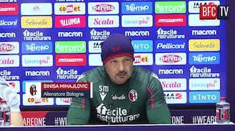 """Anteprima immagine per Mihajlovic: """"Soriano dietro?"""" E parte lo show con il giornalista..."""