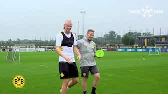 Imagem de visualização para Haaland volta e começa pré-temporada no Borussia Dortmund