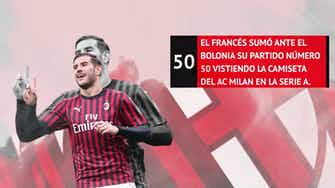 Imagen de vista previa para Theo Hernández: 50 partidos en la Serie A a ritmo de récords