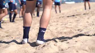 Image d'aperçu pour Le FC Porto poursuit sa préparation sur la plage
