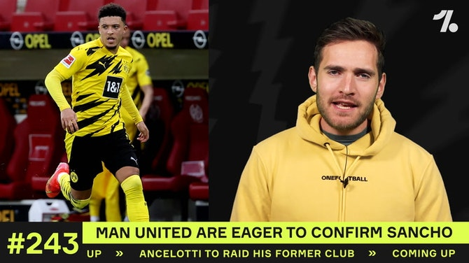 Sancho to Man United UPDATE!