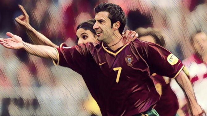 Five of the best players at Euro 2000
