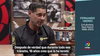 """Imagen de vista previa para Hierro: """"El número 4 con el escudo del Madrid pertenece al Real Madrid"""""""