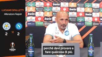 """Anteprima immagine per Napoli, il carattere che piace a Spalletti: """"Squadra con gli attributi"""""""