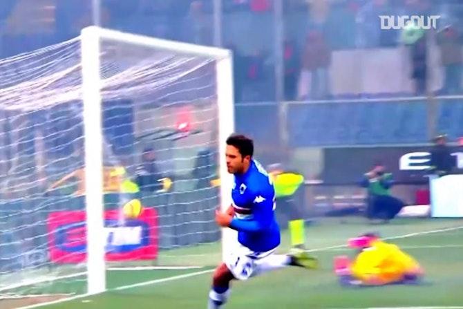 Top cinco gols de Éder pela Sampdoria