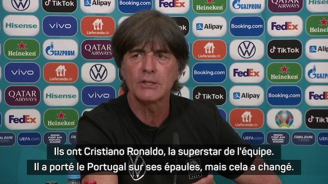 Groupe F - Löw se méfie grandement de Cristiano Ronaldo