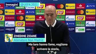 """Anteprima immagine per Zidane si gode i suoi vecchietti: """"Vogliono scrivere la storia"""""""