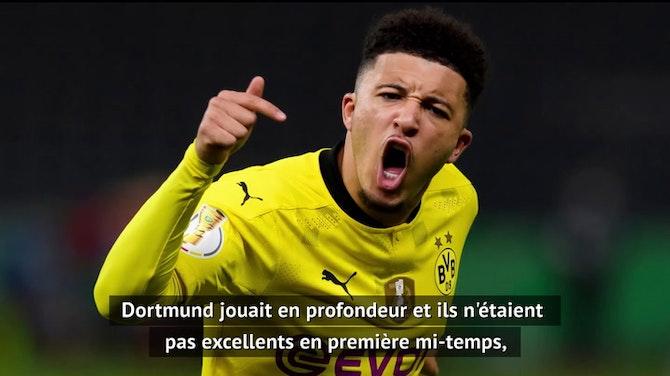 """Finale - Nagelsmann : """"Beaucoup de choses sont allées dans le sens de Dortmund"""""""