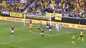Imagem de visualização para Dortmund bate o Bologna em amistoso de pré-temporada; veja os gols