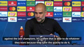 Preview image for PSG comeback tells me a lot about City's players - Guardiola