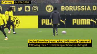 Preview image for Favre sacked - his Dortmund career in numbers