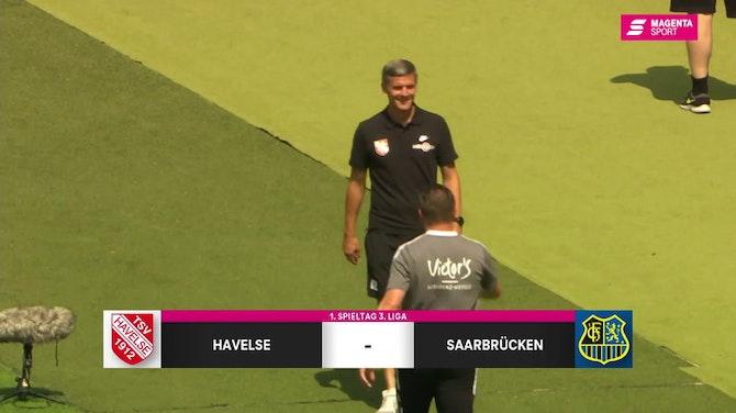 Vorschaubild für TSV Havelse - 1. FC Saarbrücken (Highlights)