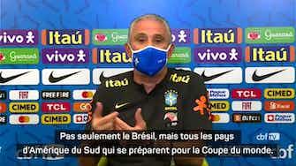 """Image d'aperçu pour Brésil - Tite dénonce les """"avantages européens"""" pour la préparation à la Coupe du monde"""
