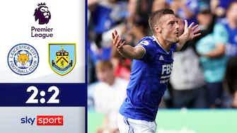 Vorschaubild für Vardy macht Eigentor wieder gut! | Leicester City - Burnley 2:2