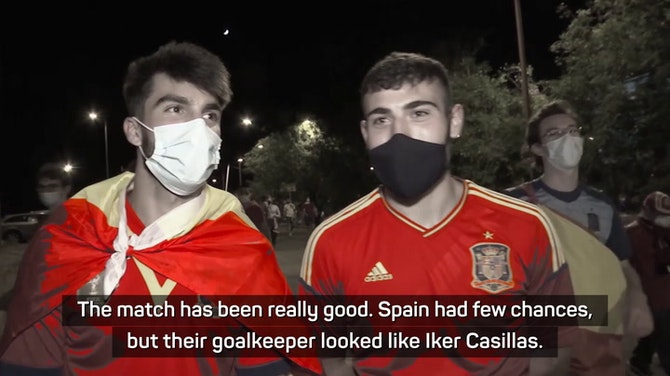 Spain fans frustrated with opening draw