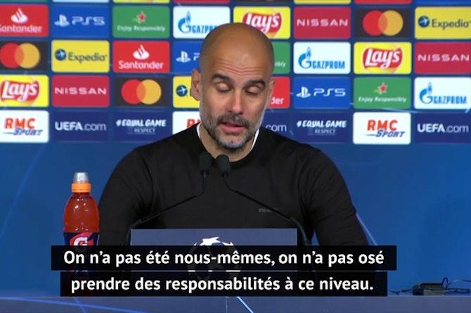 """Demies - Guardiola : """"C'est juste la moitié du travail qui est fait"""""""