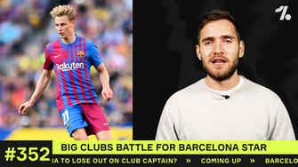 Preview image for Which BIG clubs will BATTLE for Barça's de Jong?