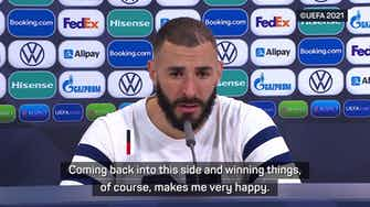 Preview image for Benzema basks in France's Nations League triumph