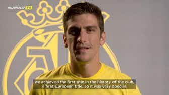 Preview image for Gerard Moreno on being named 20/21 Europa League Player of the Season