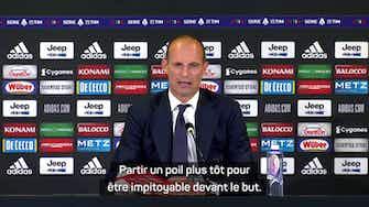 """Image d'aperçu pour 4ème j. - Allegri : """"Rabiot a très bien joué mais..."""""""
