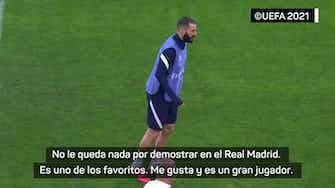 """Imagen de vista previa para Saha: """"Benzema es uno de los favoritos para ganar el Balón de Oro"""""""