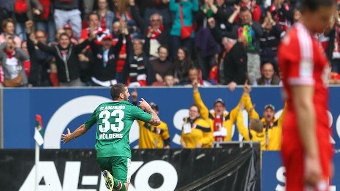 El histórico triunfo del Augsburgo ante el Bayern de Guardiola