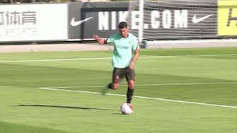 Anteprima immagine per  Ronaldo, primo allenamento in nazionale da Red Devil