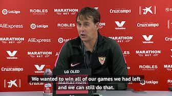Preview image for Lopetegui vows to keep fighting despite Sevilla's late loss to Athletic